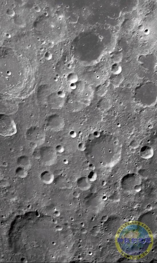 一美元_嫦娥一号传回的第一张高清晰月球表面照片 - 神秘的地球 科学 ...