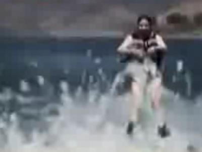 Discovery:美国湖底水怪拖走游人视频
