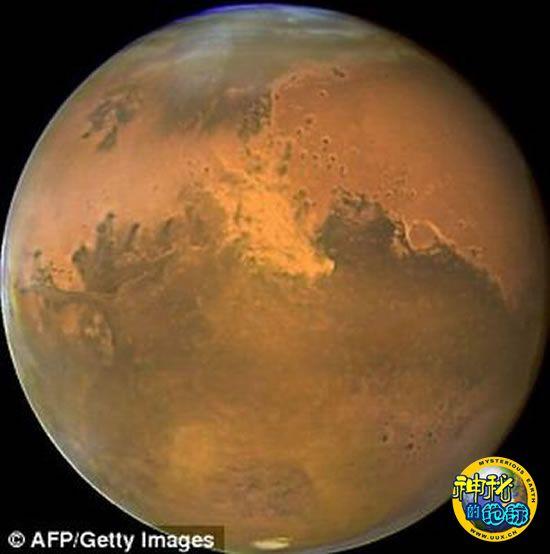 火星表面曾经三分之一面积覆盖着海洋