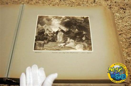 相册 希特勒/它是德国纳粹专门为希特勒搜集的艺术品系列的一部分