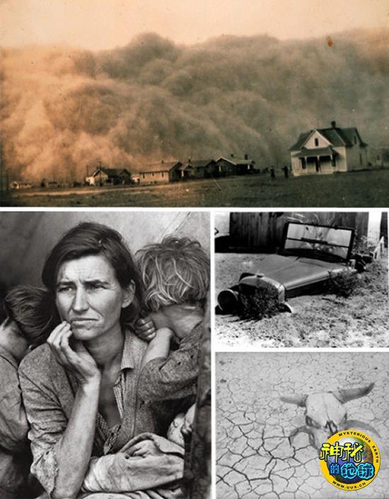 美国大平原沙尘暴-全球12起著名的生态灾难
