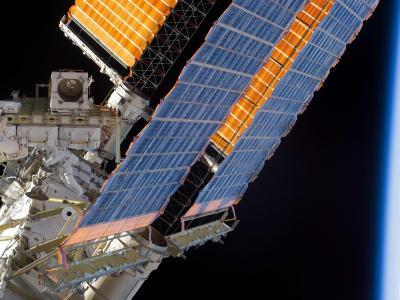 STS-132任务最后一次太空行走