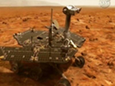 将亡的火星车