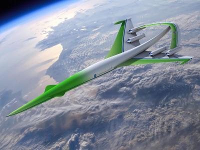 """美国宇航局""""绿色超音速""""飞机"""