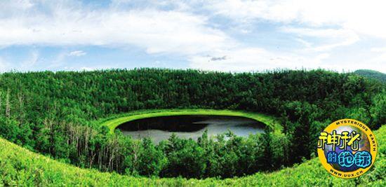 内蒙古大兴安岭发现我国最大的火山天池群