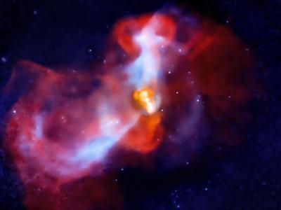 "M87大质量星系里的""超级火山""喷发"