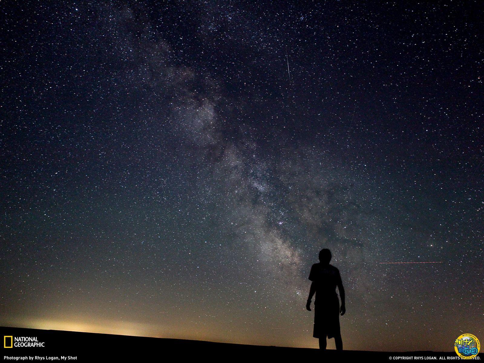 《原创》遥望夜空 - 枫叶 - 枫叶 8612