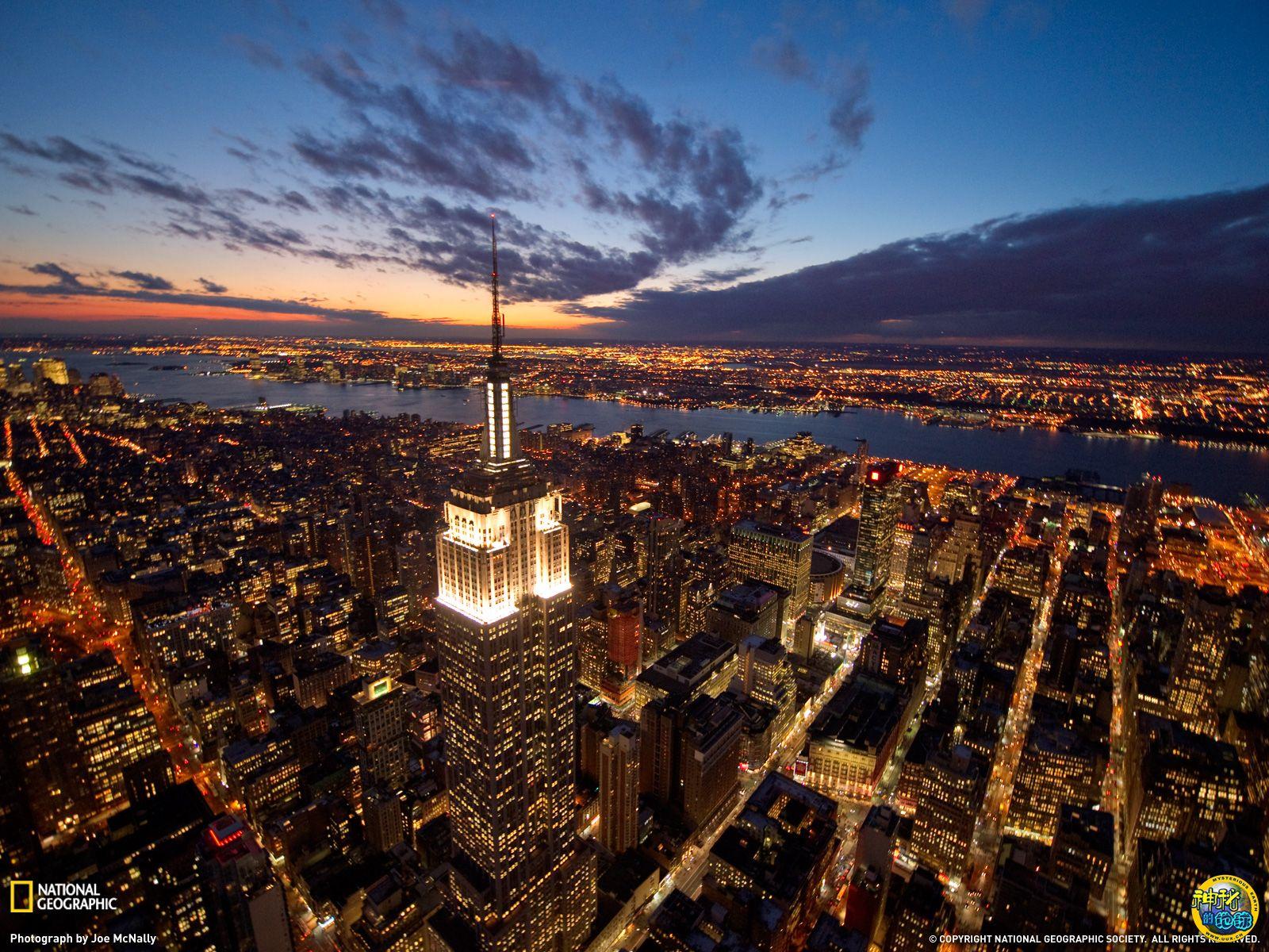 纽约 世界上/美国纽约帝国大厦