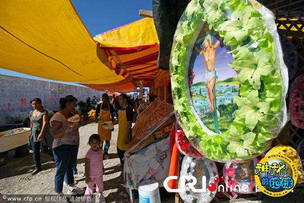 墨西哥华雷斯市举行亡灵节庆祝活动