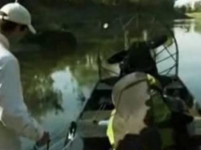Discovery探索频道《河中巨怪》——半鳄半鱼怪