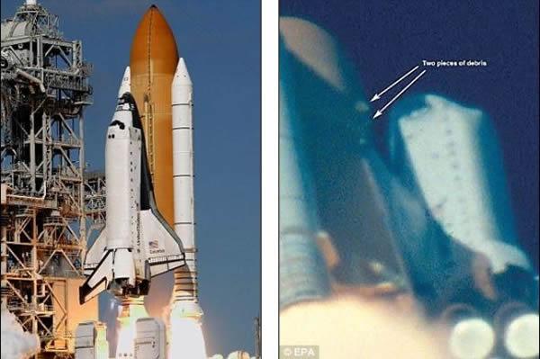 哥伦比亚号失事_图文NASA局长奥基福沉痛宣布哥伦比亚号失事