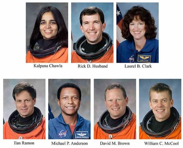 哥伦比亚号失事_美国哥伦比亚号航天飞机失事7名宇航员罹难_