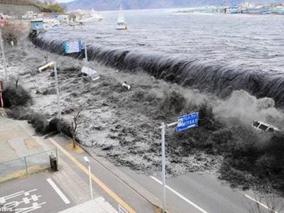 研究称袭日海啸由两股巨浪合并而成