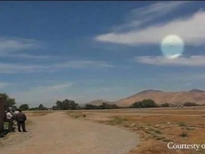 智利拍摄到时速超6000公里的不明飞行物视频