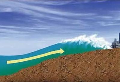 """日本预测如果发生里氏9级地震""""南海海沟海啸""""最高可达34.4米"""