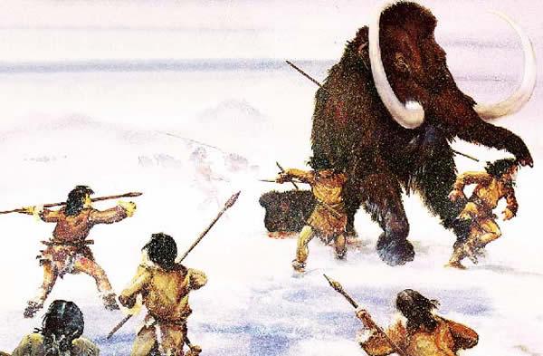 西伯利亚保存完好的猛犸象遗骸的背后:洞