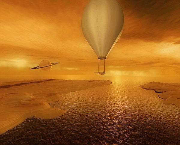 美国宇航局最新太空任务:在土卫六甲烷海洋上航行勘测