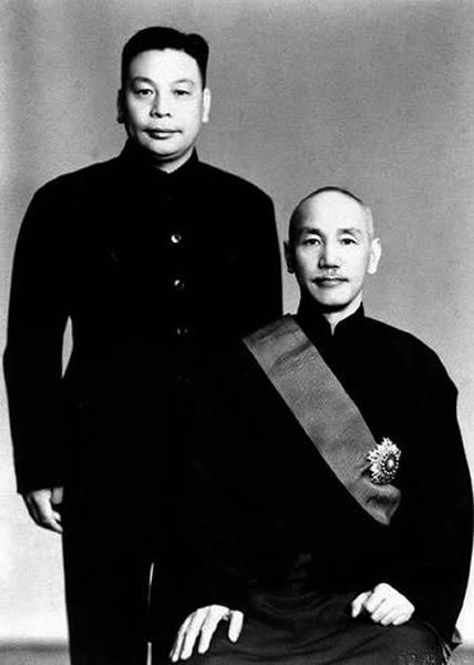 蒋介石和儿子蒋经国