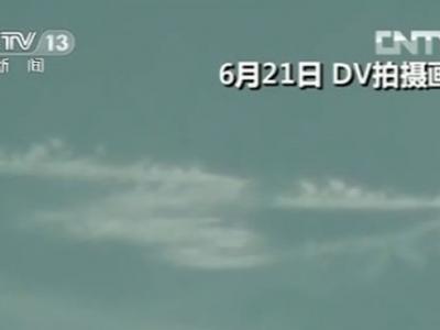 新疆喀纳斯湖再次出现疑似湖怪的不明生物(视频)