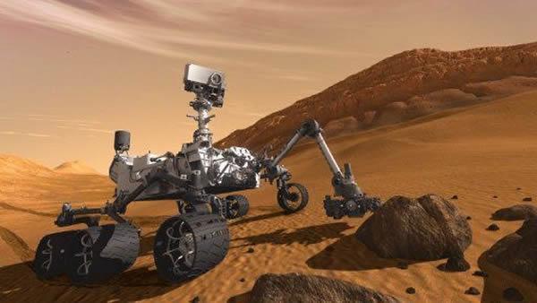 好奇号登火星7天倒计时