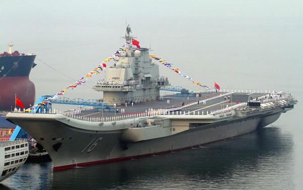 中国第一艘航母 辽宁 舰