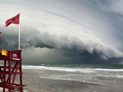 美国大西洋海岸风暴来袭
