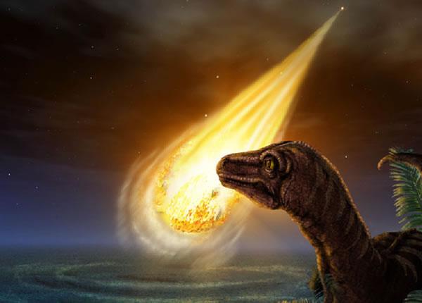 一颗小行星在恐龙灭绝前撞击了地球