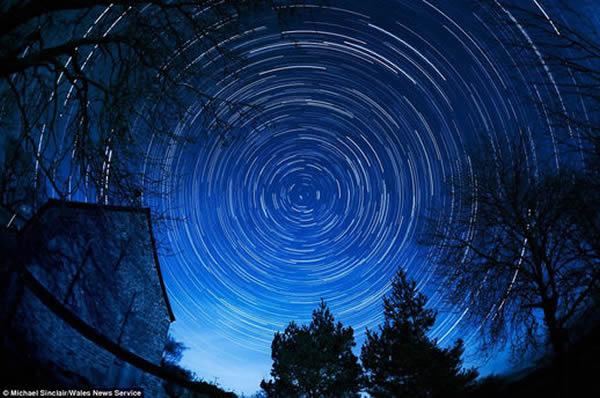 """英国威尔士布雷肯比肯斯国家公园被列为""""国际黑暗天空保护区"""""""