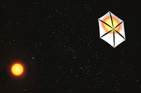 Sunjammer太阳帆探测器将使用聚酰亚胺薄膜帆面,强度大厚度薄