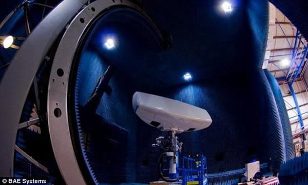 """英国最新雷达系统""""ARTISAN""""能够探测24公里外3倍音速飞行的网球大小物体"""