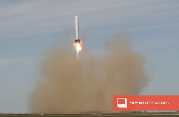 SpaceX Grasshopper Makes Record Hop