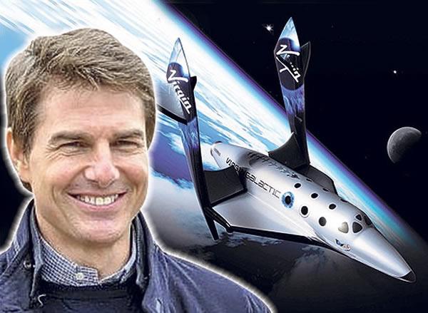 汤姆·克鲁斯计划乘太空飞船绕地球一圈