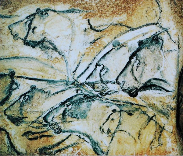 史前壁画中,有不少穴狮的画像。