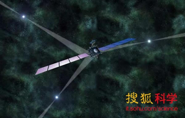 德国科学家指出,利用宇宙中三颗脉冲星发出的X射线可以进行精确的星际导航