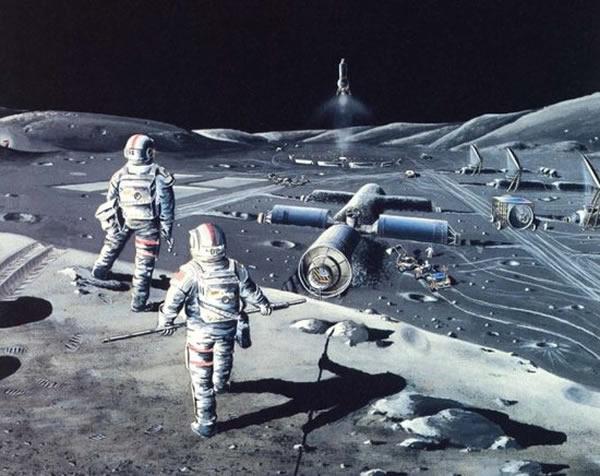"""2020年代登陆月球的可能是一些私人航天企业,它们试图""""统治""""近地轨道到月球表面的所有业务"""