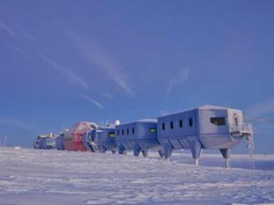 """英国南极新科考站""""哈雷六号""""投入使用"""