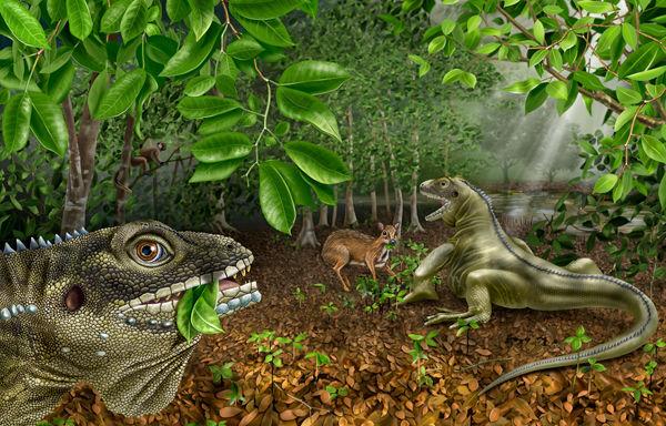 4000万年前蜥蜴王