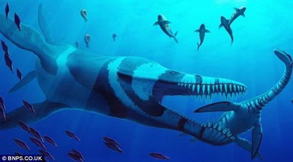 英国科学家称这是一种上龙新物种,认为它具有地球史上最强的咬力