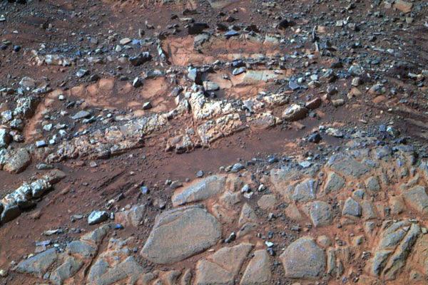 火星上的重要穿越