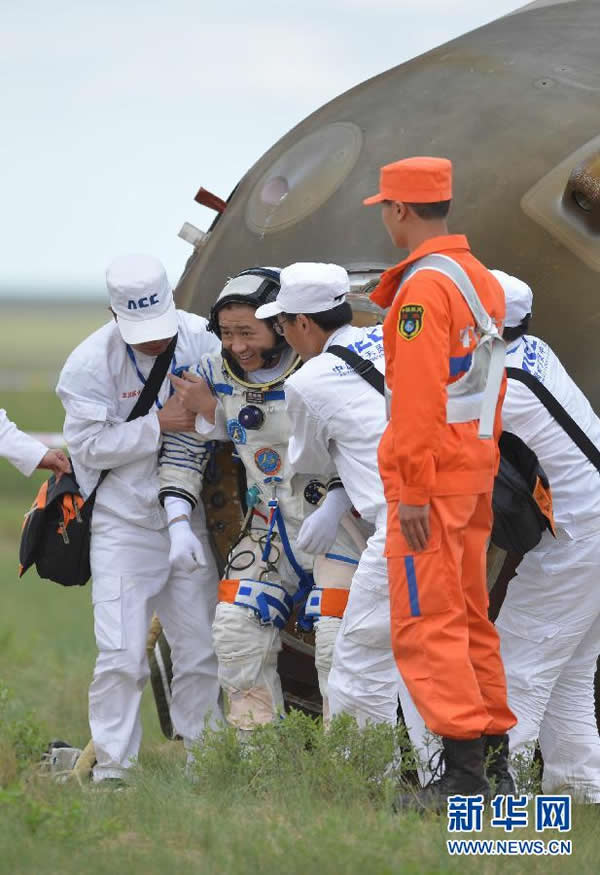 航天员聂海胜自主出舱