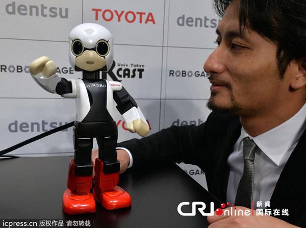 日本机器人宇航员将飞往国际空间站