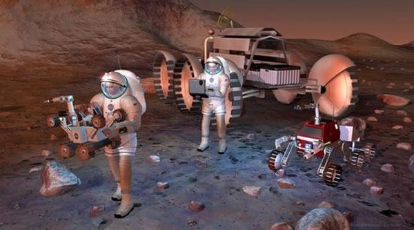 火星之旅中宇航员将面对细菌的困扰,即便它们不致命,也可能会让你身体发痒