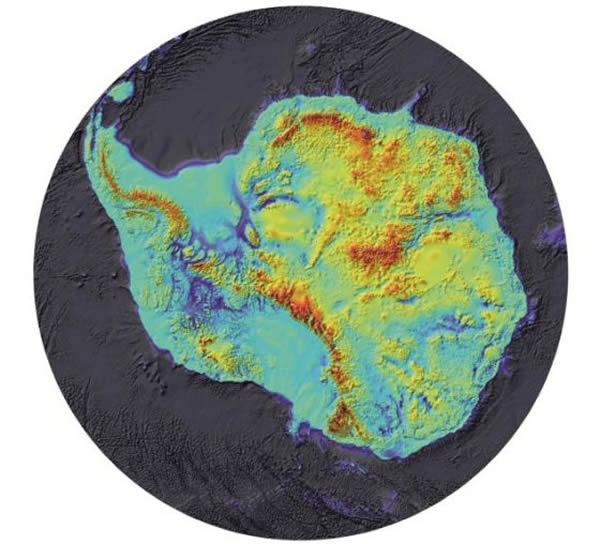 这项英国研究最早把该地区的基岩绘制成图