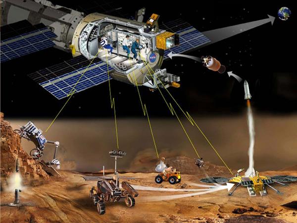 美国宇航员在国际空间站实施首次从太空操纵地面机器人的试验