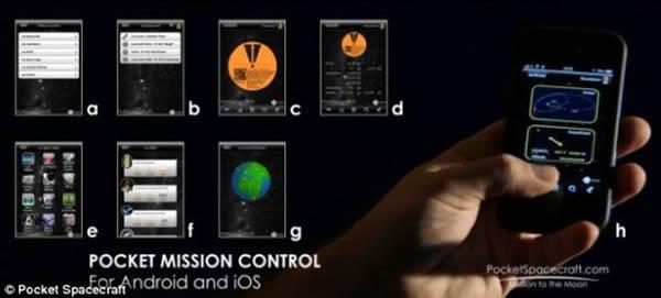 """所有参与者都可以利用""""口袋任务控制""""应用程序对任务进行全程追踪,从在实验室设计制造到太空飞行。此外,参与者还可以通过博客、每月一次的视频日记以及每季一次的网络研"""