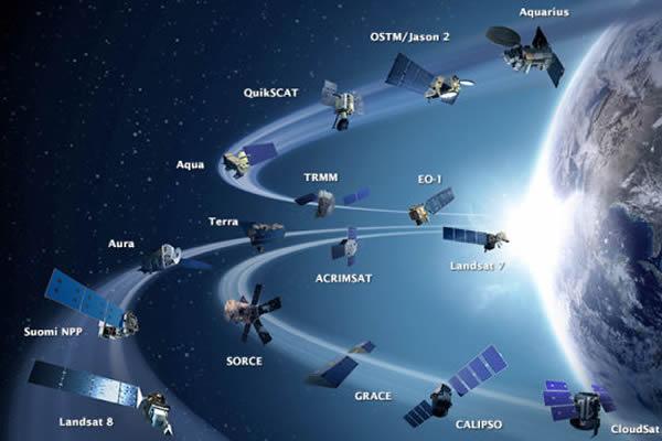 美国宇航局地球观测卫星舰队