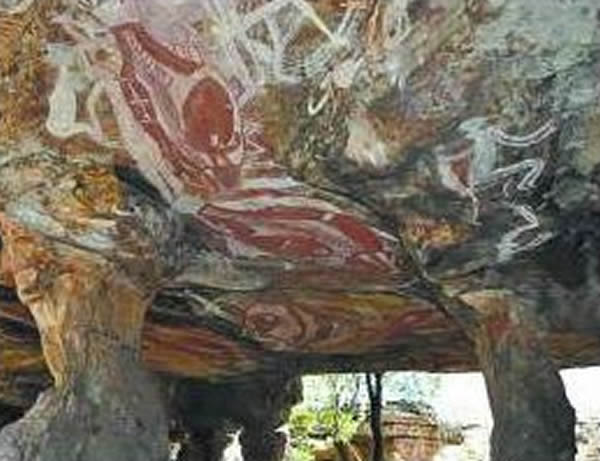 澳大利亚岩画