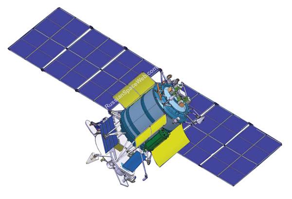 资料图:Geo-IK-2军用卫星。