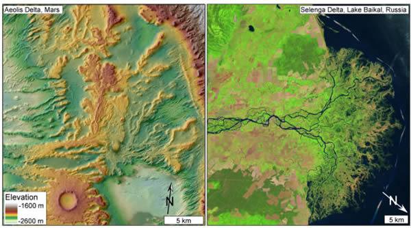 数十亿年前火星表面大部分地区曾经被广阔的海洋覆盖