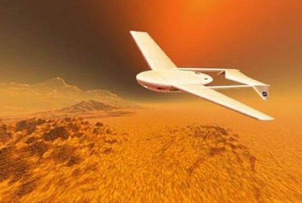 科学家试图通过仿生技术打造可在火星大气中飞行的飞机,一次任务可完成大范围的探索和勘探作业